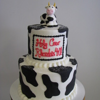Holy Cow frosting and fondant decorations