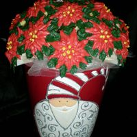 Christmas Cupcake Bouquet This is my first Christmas cupcake bouquet (and only my second cupcake creation!) I had to remind people that it was to eat, and not just...