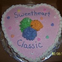 Cake For A Raffle   We raffles this cake off at a cheerleading competition our school sponsored in February!