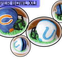 Superbowl Helmet