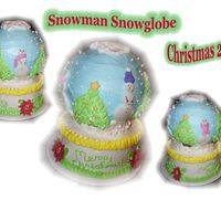 Snowman Snowglobe Used ideas from the gallery to make this one. I don't remember whose they were though - sorry but thanks for sharing your ideas with...