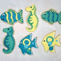 Fish Cookies these are party favors for a childrens party