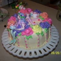 Tea Party Fairy Cake