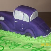 33 Ford Coupe for my FIL's bday... carved completely from cake from a picture of the car. They loved it!