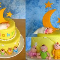 Babies This cake is from the Wilton Fondant book. I thought it was the cutest cake and was very happy that I had a baby shower coming up, so I...
