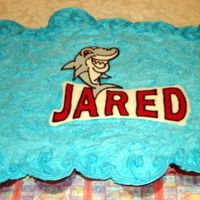 Shark Ccc This is my first CCC. Thanks for all the help! I added a chocolate transfer for my son's 3rd birthday