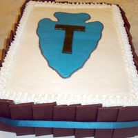 T Patch Change Of Command I made this for my husband's Change of Command ceremony. It served 120 people and traveled 6 hours in the car! Since I was traveling,...