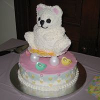 Baby Shower Cake - Jan 2008!
