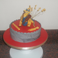 Chinese Dragon & Music Celebration Cake Raffled to raise funds for our Orchestra Trip to the World Expo in Shanghai