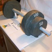 Barbell Cake--2Nd Side Vies