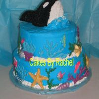 Orca Whale Cake I just did this cake for my daughter's 4th Birthday. It was supposed to have a swirled icing pattern but the humidity is awful in...