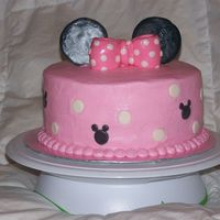 Minnie Mouse Cake This was my daughter's 3rd birthday cake. I am a critique subgroup member.