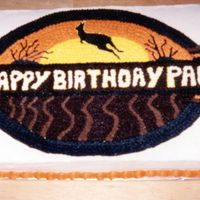 Suvivor Birthday Cake This cake was done in my early days of decorating. It was done for some friends that were having a Survivor-themed birthday party. i kicked...