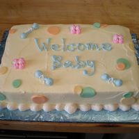 Baby Shower Buttercream