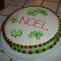 Noel This is a quick and easy christmas cake.