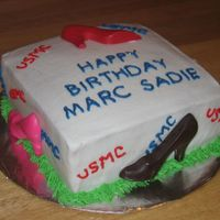 Humana_Bdays_-_092606.jpg shoes made in colored chocolate. Cookies & Cream filling.