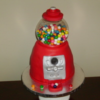 Gumball Machine Gumball Machine made for a little girl's birthday.