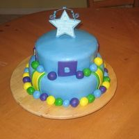 Boy Cake Cake made for baby boy