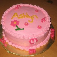 Pink Cake This was made for my niece who will soon turn 4. This was for a last minute get together