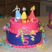 Princess This was for a princess party.I was only give 2 days notice so I didn't have time to do a lot