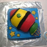 First Birthday Cake I made this for my son's first birthday. We used the Hugs and Stitches theme