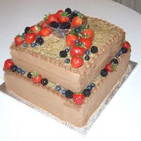 German Chocolate Grooms Cake