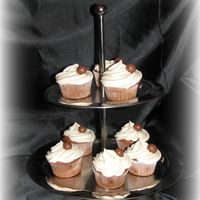 Malted Milk Cupcakes And Icing
