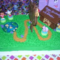 Dora The Explorer Go over Crocodile Lake, Around the Chocolate Tree, and Through the Troll Bridge to Juliana's Birthday Party!