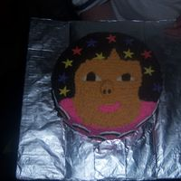 Dora Cake  I made this for my SIL daughter's bday. It's not the best I could have done, but I had to make 2 cakes for the same family. They...