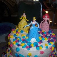 Top Of Princess Cake This cake I made for my daughters 2nd bday. I got the idea from CustomCakesbySharon. I really liked hers. Of course mine is no where near...