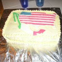 Citizenship Cake I made this cake for my husband who got his citizenship on June 11th. The countries are made from MMF. I cut every single color, which took...