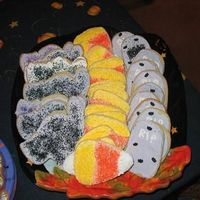 Halloween Cookies Cookies made for a Halloween party.