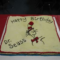 Dr. Suess Birthday Cake