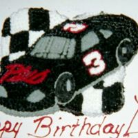 Dale Earnhart Cake This is an old picture, from back when I was married, LOL. My husband was a big Nascar fan, particularly of DE. He stood over me as I made...