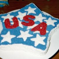 Usa Cake  I did this a few years back, have been going through old photos. I need to do it again, better. It's an idea from an old Wilton...