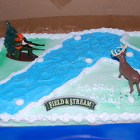Hunting Wanted a hunting cake here is what I did.