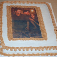 Twlight New Moon First edible image I have done.