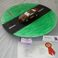 Chocolate Car My 9 y.o. son's entry for the 2006 San Diego Cakes on Parade Contest benefiting MDA. He used the Wilton car kit for this and placed...