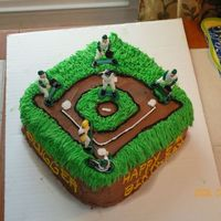 Baseball this was for my sons 5th birthday. I was very pleased with the way it came out. I'm a newbie and this so far is one of my favs! pretty...