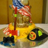 Old Fire Hydrant This is a cake we did for the Paradis Vol. Fire Dept. for thier instalation of new officers.