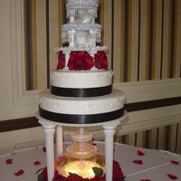 Good Wedding   10 and 14 inch cake with buttercream frosting. TFL!
