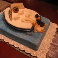 Boating Wedding Cake