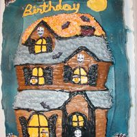 Haunted House I made this for my daughters birthday party last year
