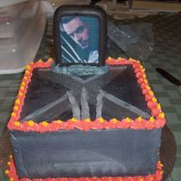X-Men - Wolverine Birthday Cake I made this cake for my nephew's 6th birthday. He loves x-men and he wanted the wolverine from the movie not the cartoon :D The plaque...