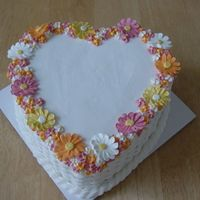 Heart Basket This was a birthday cake for a customer. Very simple decoration, the cake recipe is a special one though. It's an eggless, milkless,...