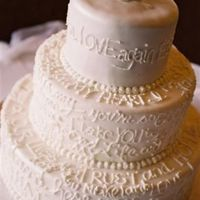 Wedding Cake Words