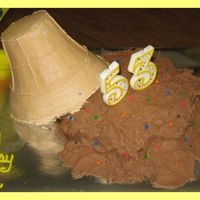 Icecream Cone This is a cake that Coopscake and I did together. It is a one layer cake iced very messy. The Icecream cone was bake in a copper pan that...