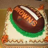 Browns  Made for a neighbor's birthday...He's a Cleveland fan, but we're all Steeler's fans here! PITTSBURGH'S GOIN'...