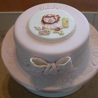 Pink Baby Shower Cake This was dummy cake I made for a competition/show locally. All fondant and gumpaste. Thanks for looking.