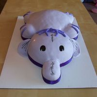 100_2289.jpg a little elephant :) a more generic version of my heffalump cake